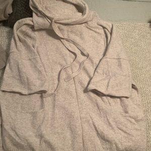 Michel Stars poncho sweater